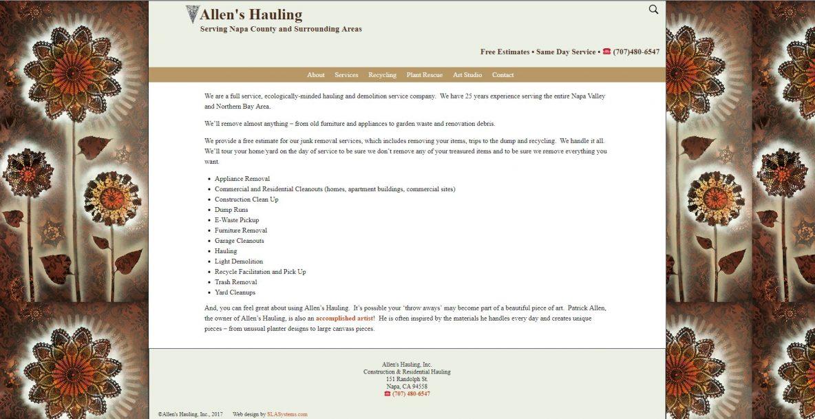 Allen's Hauling